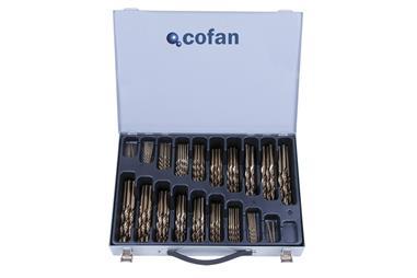 Comprar MALETIN SURTIDO BROCAS COBALTO 1-10 - 125 Unds. COF-04010974 en Ferretería el Clavo.