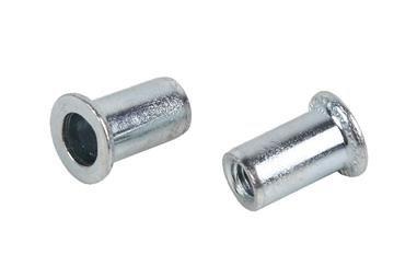 Comprar TUERCAS REMACHABLES ACERO ANCHAS M5 (Envase de 100) COF-07500105 en Ferretería el Clavo.