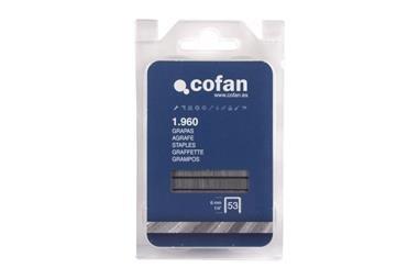 Comprar BLISTER DE GRAPAS 53/6MM (1.960 PCS) COF-09002050B en Ferretería el Clavo.