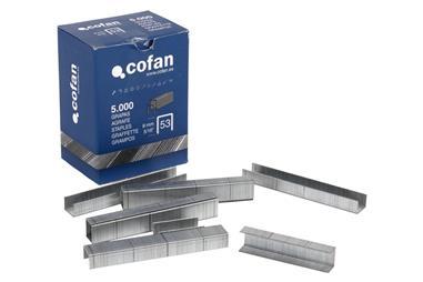 Comprar CAJA DE GRAPAS 53/8MM (5.000 PCS) COF-09002051 en Ferretería el Clavo.