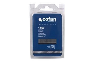 Comprar BLISTER DE GRAPAS 53/8MM (1.960 PCS) COF-09002051B en Ferretería el Clavo.