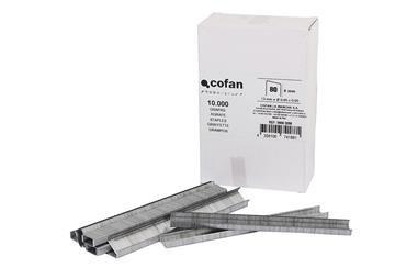 Comprar CAJA DE GRAPAS 80 / 8 mm (10.000 PCS) COF-09002091 en Ferretería el Clavo.