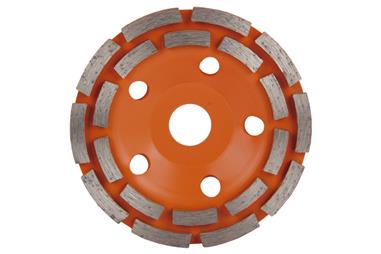 Comprar CORONA DOBLE PISTA MAMPOSTERIA 100mm - H22,2 COF-09292601 en Ferretería el Clavo.