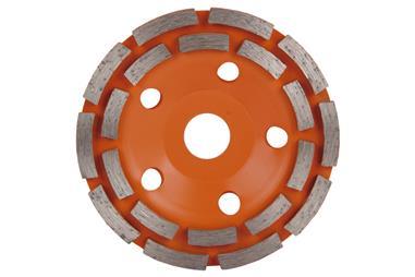 Comprar CORONA DOBLE PISTA MAMPOSTERIA 125mm - H22,2 COF-09292602 en Ferretería el Clavo.
