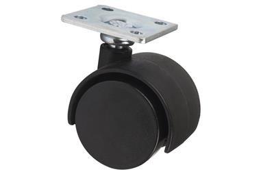 Comprar RUEDA PLASTIC Ø40MM PLACA COF-09403471 en Ferretería el Clavo.