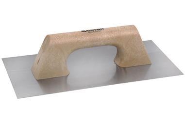 Comprar LLANA MOD. RECTANGULAR MANGO PLÁSTICO 300x150x0,7 mm COF-09517193 en Ferretería el Clavo.
