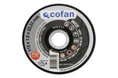 Comprar DISCO CORTE - 115X1,0X22,23 INOX PROFES. COF-10041115 en Ferretería el Clavo.