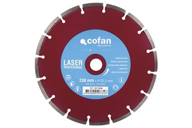 Comprar DISCO DIAM. UNIVERS.PROFES.LASER 115mm. COF-10110115 en Ferretería el Clavo.