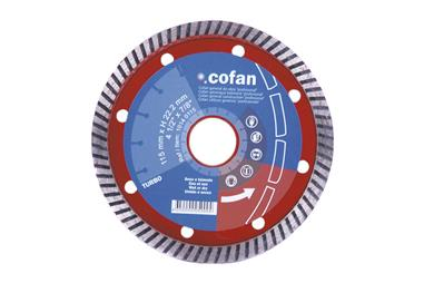 Comprar DISCO DIAM.TURBO PROFESIONAL 230MM. COF-10140230 en Ferretería el Clavo.