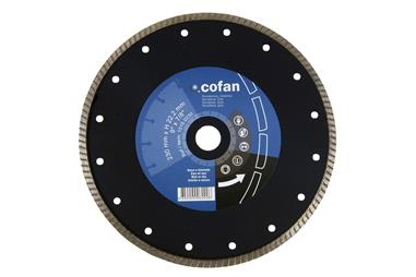 Comprar DISCO DIAMANTE TURBO EXTRAFINO 125MM. COF-10150125 en Ferretería el Clavo.