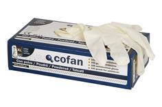 Comprar CAJA 100 UNDS. GUANTES DE LATEX T - S COF-11000011-S en Ferretería el Clavo.