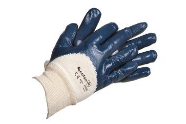 Comprar BLISTER GUANTES NITRILO AZUL T-8 (Envase de 12) COF-11000097-8BL en Ferretería el Clavo.