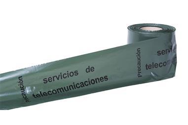 Comprar CINTA BALIZ. TELECOMUNICACIONES 150MMX250MTS COF-11000315 en Ferretería el Clavo.