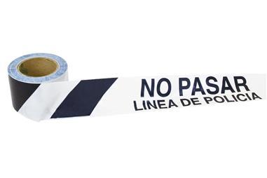 Comprar CINTA BALIZ. LINEA POLICIA 80MMX100MTS COF-11000316 en Ferretería el Clavo.