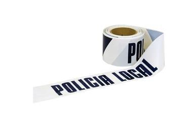 Comprar CINTA BALIZ. POLICIA LOCAL  80MMX100MTS COF-11000317 en Ferretería el Clavo.