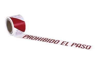 Comprar CINTA BALIZ. PROHIBIDO EL PASO  80MMX100MTS COF-11000331 en Ferretería el Clavo.