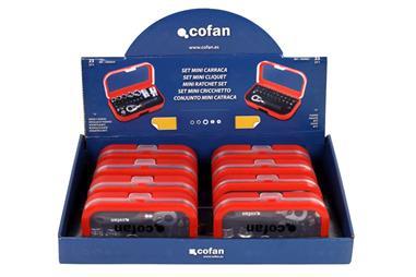 Comprar EXPOSITOR 8 MALETINES MINI (14009020 (4) + 14009021(4) COF-14009025 en Ferretería el Clavo.
