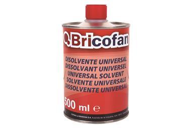 Comprar DISOLVENTE UNIVERSAL BRICOFAN (500ML) COF-15002366 en Ferretería el Clavo.