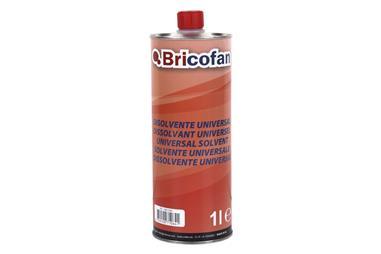 Comprar DISOLVENTE UNIVERSAL BRICOFAN (1 L) COF-15002367 en Ferretería el Clavo.