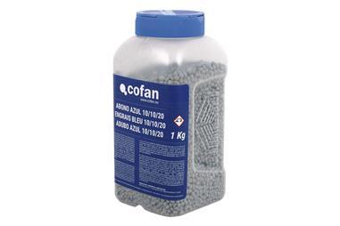 Comprar ABONO AZUL PLANTAS Y FLORES COFAN 1KG COF-15801071 en Ferretería el Clavo.