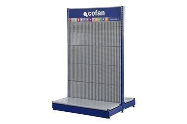 Comprar PIE LATERAL DE 400MM EXPOSITOR GONDOLA COF-21001102.02 en Ferretería el Clavo.