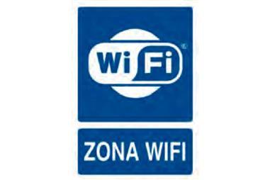 Comprar SEÑAL POLIESTIRENO 297X210 MM. ZONA WIFI Zona Wifi COF-21201019 en Ferretería el Clavo.