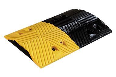 Comprar REDUCTOR VELOCIDAD AMAR/NEGRO 500x350x50 mm COF-21201110 en Ferretería el Clavo.