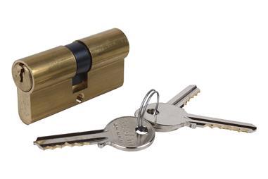 Comprar Cilindro 40/40- Leva Larga- Latón COF-31044040 en Ferretería el Clavo.