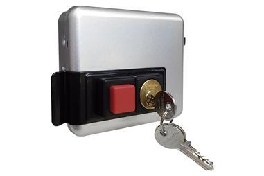 Comprar Cerradura eléctrica+cerradero C/ Pulsador- Derecha COF-31300101D en Ferretería el Clavo.