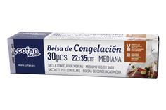Comprar BOLSAS DE CONGELACIÓN MEDIANA 22X35 30UDS COF-41605161 en Ferretería el Clavo.