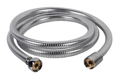 Comprar FLEXO DUCHA PVC PLATA/LATÓN 1,5M COF-42001102 en Ferretería el Clavo.