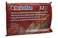 Comprar PASTILLA ENCENDIDO MADERA ECOLOG. 32 Unds COF-43050116 en Ferretería el Clavo.