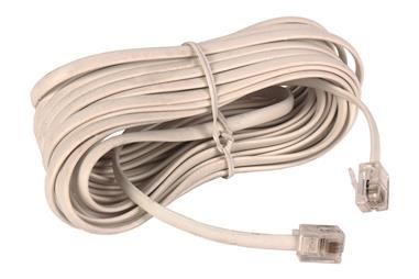 Comprar CABLE PLANO TELEFONO CON TOMAS (2.2M) COF-51001062 en Ferretería el Clavo.