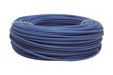 Comprar ROLLO CABLE H07V-K 1X1,5MM2 AZUL (100M) COF-51002554A en Ferretería el Clavo.