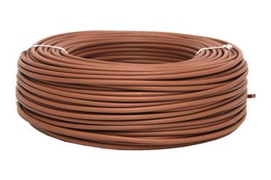 Comprar ROLLO CABLE H07V-K 1X1,5MM2 MARRÓN (100M) COF-51002554M en Ferretería el Clavo.