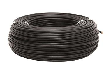 Comprar ROLLO CABLE H07V-K 1X1,5MM2 NEGRO (100M) COF-51002554N en Ferretería el Clavo.