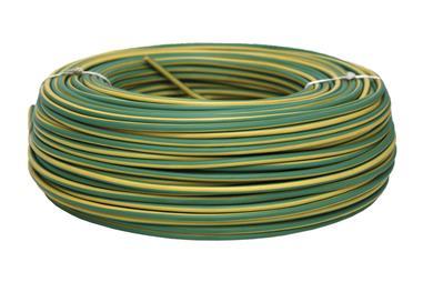 Comprar ROLLO CABLE H07V-K 1X1,5MM2 AMAR/VERDE (100M) COF-51002554V en Ferretería el Clavo.