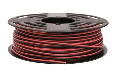 Comprar ROLLO 100M CABLE PARALELO ROJO/NEGRO (2X0,75) COF-51002675 en Ferretería el Clavo.