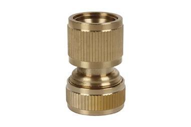 Comprar CONECTOR MANGUERA LATÓN 1/2 - 5/8 (13-15 mm) COF-90014020L en Ferretería el Clavo.