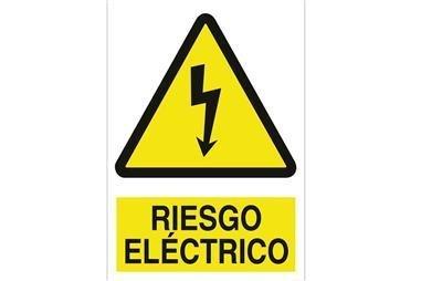 Comprar SEÑAL POLIESTIRENO 148X105 MM Riesgo eléctrico COF-A01PL148105 en Ferretería el Clavo.