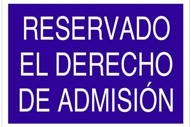 Comprar SEÑAL POLIESTIRENO 210X148MM. AC17 COF-AC17PL210148 en Ferretería el Clavo.