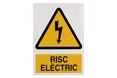 Comprar SEÑAL POLIESTIRENO 297X210 MM Risk Electtric COF-CAT-A01PL297210 en Ferretería el Clavo.