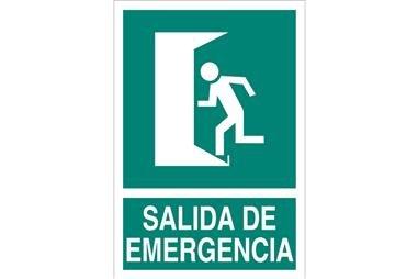 Comprar SEÑAL LUMINISCENTE 148X105 MM Salida de Emergencia COF-EV01LU148105 en Ferretería el Clavo.