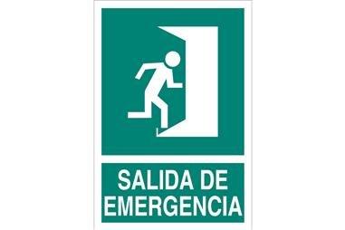 Comprar SEÑAL LUMINISCENTE 210X148MM. Salida de Emergencia COF-EV02LU210148 en Ferretería el Clavo.