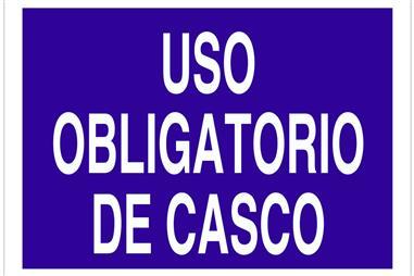 Comprar SEÑAL POLIESTIRENO 297X210 Uso obligatorio de casco COF-O01TPL297210 en Ferretería el Clavo.