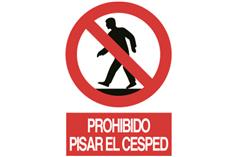 Comprar SEÑAL ADHESIVA 210X148MM Prohibido pisar el cesped COF-P105AD210148 en Ferretería el Clavo.