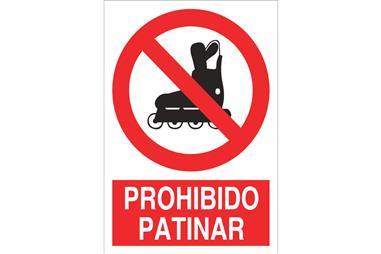 Comprar SEÑAL POLIESTIRENO 210X148MM Prohibido patinar COF-P64PL210148 en Ferretería el Clavo.