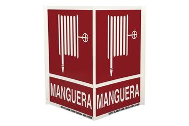 Comprar SEÑAL PANORAMICA LUMINISCENTE 297X210MM. Señal Panorámica MANGUERA INCENDIOS COF-PAN04LU297210 en Ferretería el Clavo.
