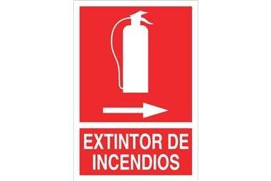 Comprar SEÑAL LUMINISCENTE 148X105MM. Extintor de incendios COF-SO01LU148105 en Ferretería el Clavo.