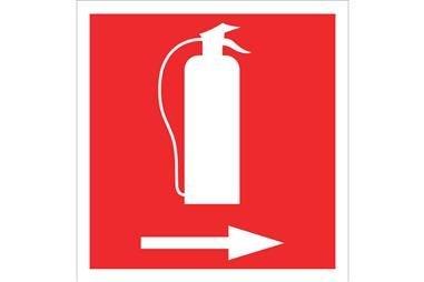 Comprar SEÑAL LUMINISCENTE 297X297 Extintor Derecha COF-SO01LU297297 en Ferretería el Clavo.